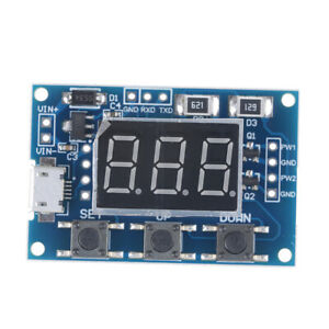 Micro Usb Dc 2ch Pwm Signal Generator Duty Cycle Pulse Frequency Cani