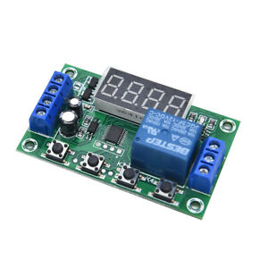 Dc 12v 5a Yyc 2s Adjustable Led Delay Relay Module Timer Control Switch Board ni