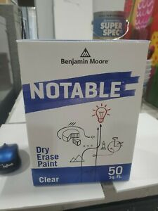 Benjamin Moore Notable Dry Erase Paint Kit 50 Sq Ft Clear