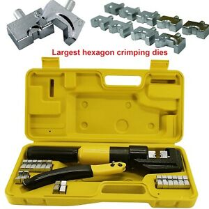 Cable Railing Kit Crimper Tool Hydraulic Crimping Tool Set Stainless Steel Wire