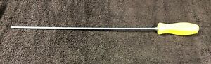 Snap On Long Hard Yellow Handle 16 Blade No 2 Phillips Screwdriver Sdd4120