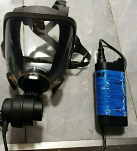 3m 6800pf Powerflow Face mounted Powered Air Purifying Respirator papr Large