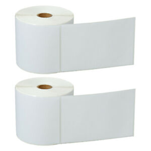 2 Roll 500 roll 4 X 6 Direct Thermal Shipping Labels For Zebra Lp 2622 Lp 2642