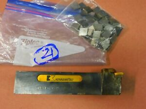 Kennametal Kclpl 204d Cp 42 Indexable Tool Holder 1 25 X 1 25 X 5 7 8 Lot 21