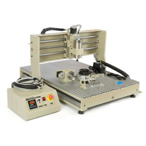 Usb 4axis Engraver Machine Cnc 6090 Router 1 5kw Milling Drilling controller Us