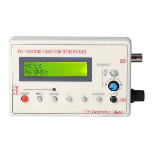 Fg 100 Dds Function Signal Generator Frequency Counter 1hz 500khz Z9x7