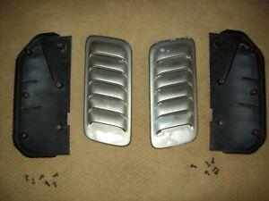1999 Jeep Grand Cherokee 5 9 Zj Limited Hood Louvers Scoops Vents Oem