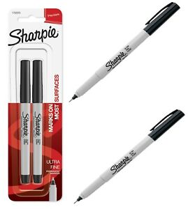 Sharpie Permanent Markers Fine Point Black 2 Count Free Shopping Best Price