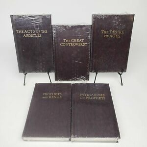 Conflict of the Ages Series 1948 Pacific Press Lot of 5 Full Set HC Brown $99.99