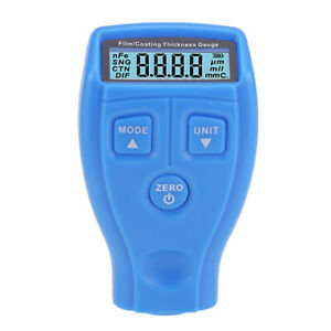 Gm200 Coating Thickness Gauge Lcd Digital Paint Thickness Probe Tester Y5m6