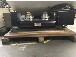 Haas Tr 160 2 Doulble Header Rotary Table Indexer 4th 5th Axis