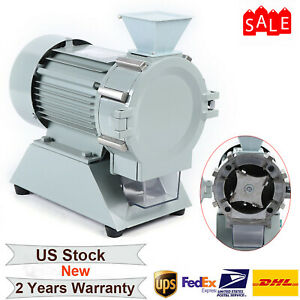Electric Grinding Micro Plant Grain Grinder Corn Beans Mill Soil Pulverizer New