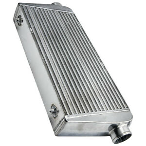 Turbo Intercooler Universal Aluminum 30 5 X 12 X 4 3 Inlet Outlet 400 800hp