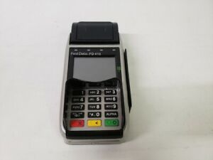 First Data Fd410 Credit Card Terminal Free Us Shipping