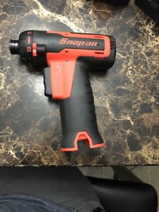 New Cts761a0 Snapon 1 4 Microlithium Cordless Screwdriver 14 4 Orange