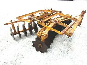Used Athens 6 Ft 3 Pt Lift Hd Disc Harrow free 1000 Mile Shipping From Ky