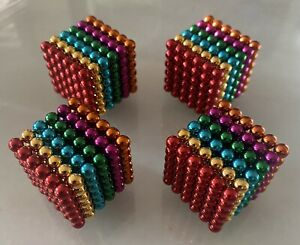5mm 864pc Magnets Sphere Magnetic For Sculpting And Models us Seller Colorful