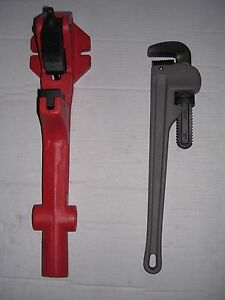 New Foot Vise Pipe Wrench 1 1 4 2 Ridgid 300 535 700 1822 1224 Pipe Threader