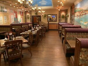 Restaurant Dining Booths And Tables Solid Wood Used