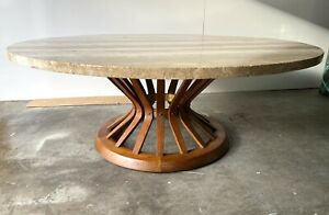 Outstanding Mid Century Modern Wheat Sheaf Cocktail Table By Edward Wormley
