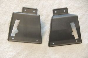 1967 1968 Ford Mustang Fastback Seat Latch Cover W O Fold Down Rear Seat Pair