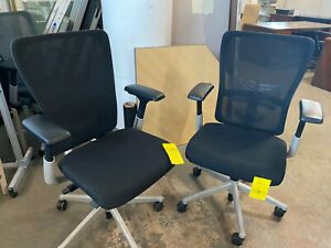 Executive Chair By Haworth Zody In Black Color