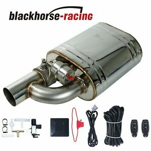 3 0 Tip On Single Exhaust Muffler Valve Cutout With Wireless Remote Controller