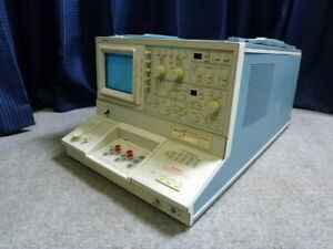 As is Tektronix 370b Programmable Curve Tracer