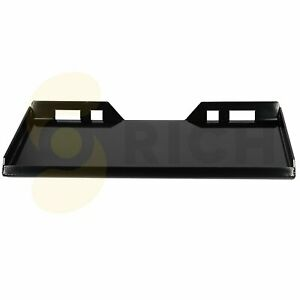 Skid Steer Loader Mount Plate Thick Steel Tractors Bucket Quick Attach Plate