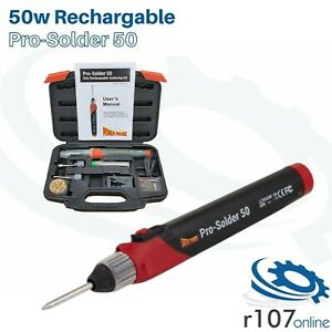 Power Probe 50w Cordless Rechargeable Soldering Iron Pro solder 50