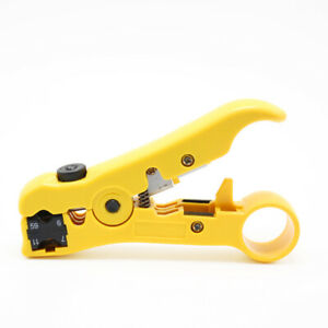 Rotary Coax Coaxial Cable Wire Electrical Cutter Stripping Tools Rg59 Rg6 Rg11