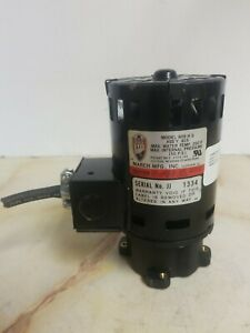 March Mfg 809hs Magnetic Drive Pump 115v 1 25hp 150psi