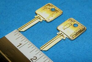 Medeco Patriot 5 Pin Blank Uncut Square Headed Keys Qty 2 For 1 Price