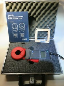 Aemc Model 3710 Clamp on Ground Resistance Tester With Case manual Fedex Ship