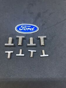 Ford West Coast Mirror Stainless T Bolt Set