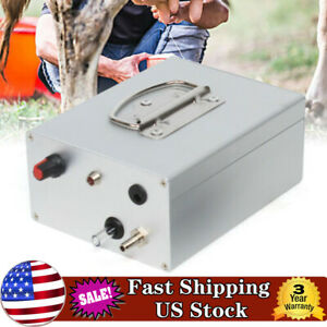 Electric Cow Sheep Goat Milking Machine Vacuum Pump Large Suction Charge 5200mah