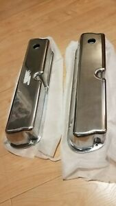 302 5 0l V8 Sbf Small Block Ford Mustang Valve Covers Polished Aluminum