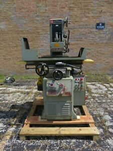 Chevalier Fsg 2a618 Hydraulic Surface Grinder W Coolant Pump Dust Collector