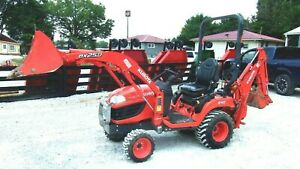 2009 Kubota Bx25 Tlb Pkg 4x4 Mid Mt Ldr 385 Hr Free 1000 Mile Delivery From Ky