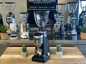 Brand New Mazzer Major V Electronic Commercial Coffee Grinder Black
