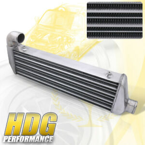 Front Mount Tube Fin Turbo Intercooler Upgrade For 02 06 Acura Rsx K20a Civic Si