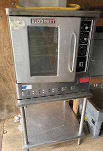 Blodgett Dfg 50 Gas Convection 1 2 Size Oven W Stand Warmer Excellent Shape