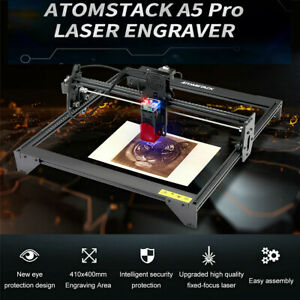 Atomstack A5 Pro 40w Laser Engraver Cnc Engraving Cutting Machine 410x400 Us New