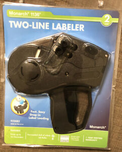 Monarch 1136 Pricing Gun Model 925082 Two line Labeler Brand New Sealed