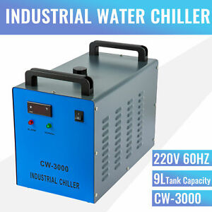 9l Cw 3000 Professional Water Chiller For Laser Engravers Markers Cutters 220v