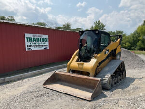 2013 Caterpillar 287c2 Compact Track Skid Steer Loader W Cab 2 Speed