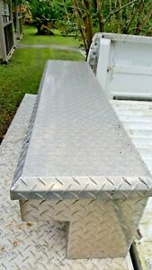 2 Heavy Duty Uws 48 Long Side Of Truck Aluminum Tool Boxes Withkey Local Pickup
