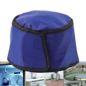 X ray Shield Head Protection Soft Lead Rubber Cap Radiation Safety 0 75mmpb Blue