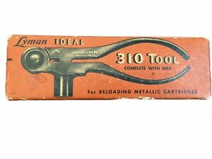 VTG Lyman Ideal No. 310 Reloading Tool With Dies 256 Winchester $219.00