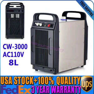 New 110v Thermolysis Industrial Water Chiller For Cnc Laser Engraver Cutter Usa